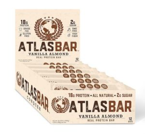 Atlas Bar is a keto-friendly protein bar