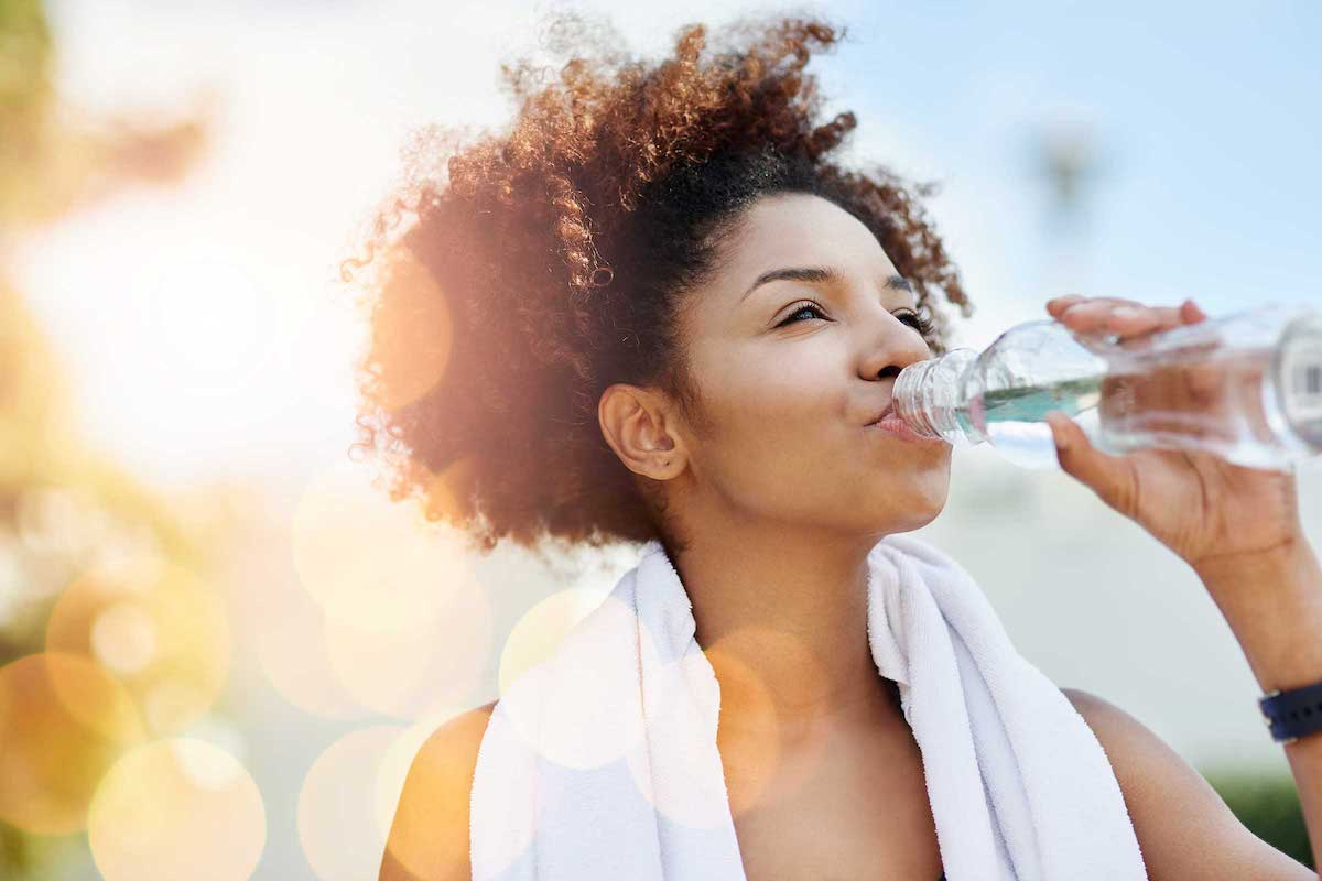 You can get rid of dry mouth during ketosis by drinking more water