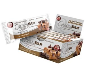 Quest is a protein-friendly bar for ketogenic diet