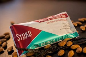 Stoka protein bars are keto-friendly.