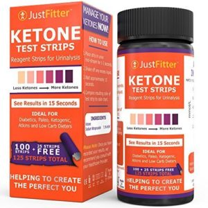 Justfitter Ketone Test Strip
